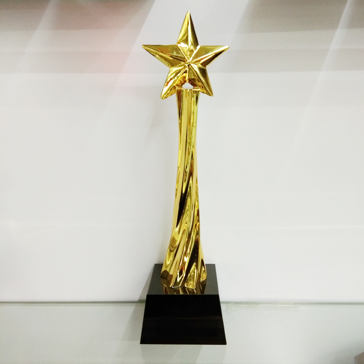 The stars trophy.
